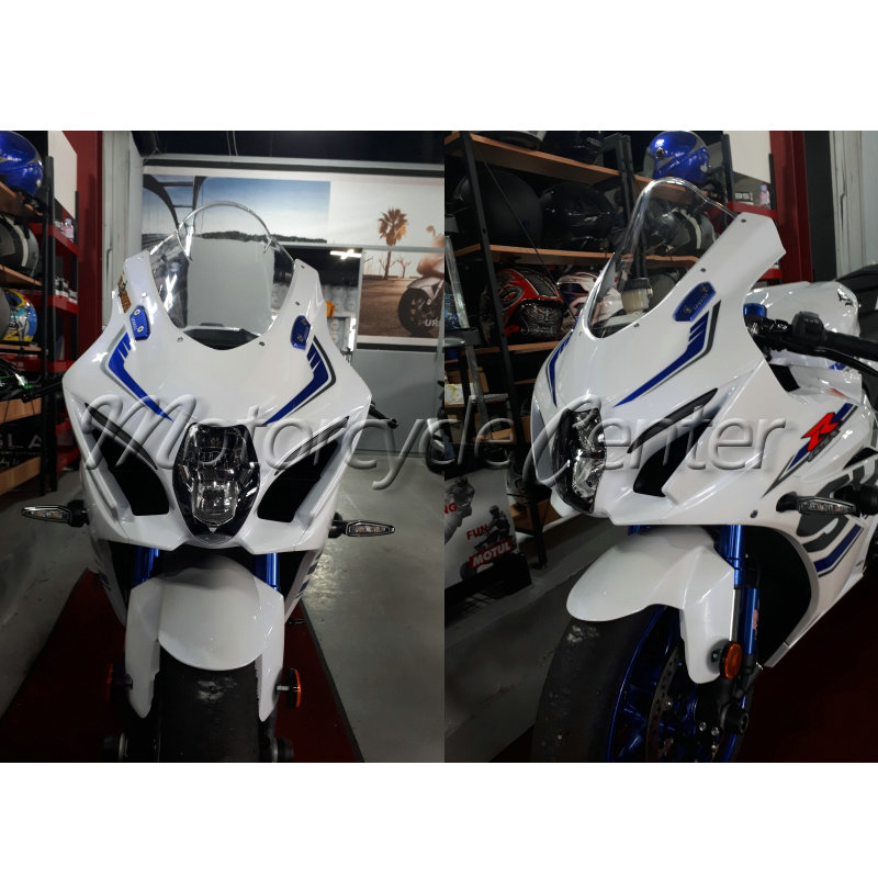 Motorcycle Wind Deflectors-Screen K17 GSX-R 18-Smoke Suzuki Gsxr1000 for Transparent title=