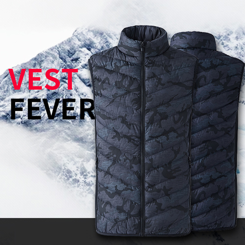 USB Heated Vest Men Women Usb Heater Tactical Thermal Warm Fishing Hunting Hiking Vest Winter Heating Vest Jacket Heated Jacket usb ultra thin winter electric heated sleevless hiking vest jacket winter warm down infrared heated outerwear coats slim fit