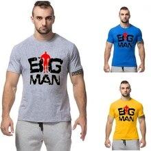 2017 Gyms clothing Men's gyms t-shirt fitness Bodybuilding cotton O-neck short sleeve t shirt men crossfit tshirt free shipping