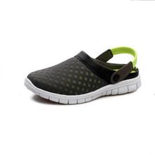Hot selling Design Unisex Mesh Sandals 2016 Summer Flat Heel Casual Sandals women Men Couples Beach Flip Flops Slippers