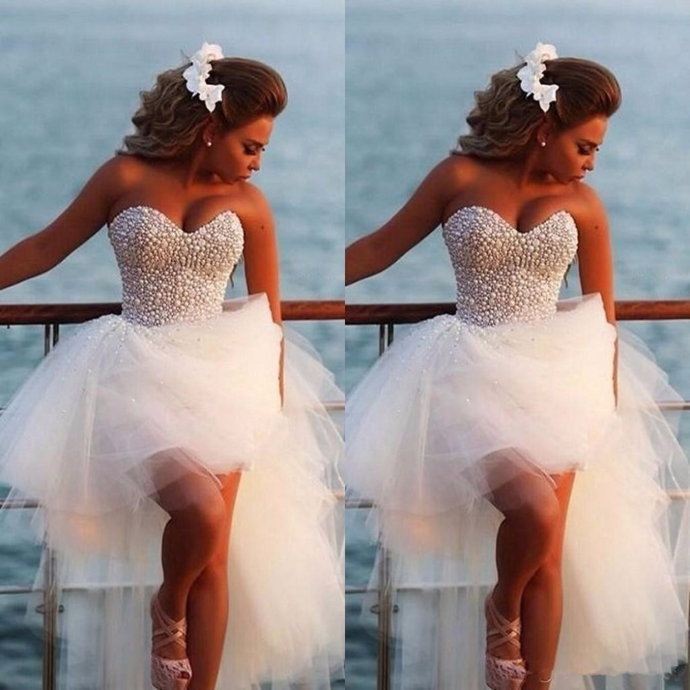 Out Front White Prom Dresses