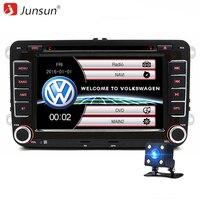 7 Inch 2 Din Car GPS DVD Navigation Radio Player For VW Volkswagen Passat GOLF Skoda