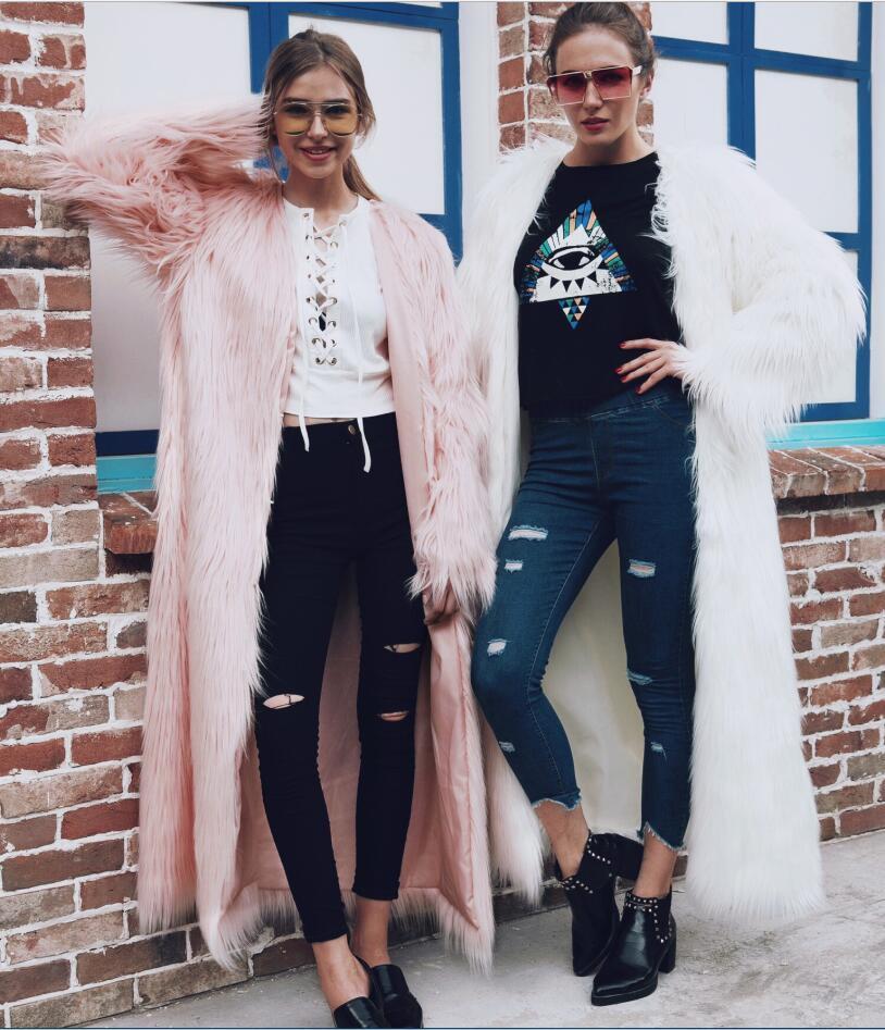 Fourrure Lady rose Nouveau Parka Hiver noir clair Femmes Style Renard vert  2019 Manteau Faux Jeune Veste Long Fille