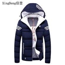 XingDeng Brand Casual Mens Jacket Winter Coats male Thick Jackets