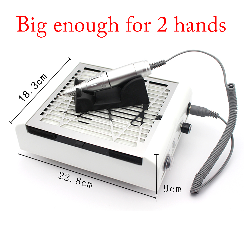 Vacuum Cleaner for Nail Art 40 W Vacuum Cleaner Nails Supplies  Nail Dust Collector   2*FILTER NETVacuum Cleaner for Nail Art 40 W Vacuum Cleaner Nails Supplies  Nail Dust Collector   2*FILTER NET