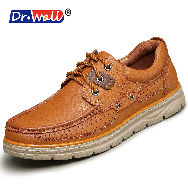 Genuine Leather Men Casual Shoes,handmade Fashion Comfortable Breathable Men Shoes Comfortable Casual Shoes dxkzmcm genuine leather men loafers comfortable men casual shoes high quality handmade fashion men shoes