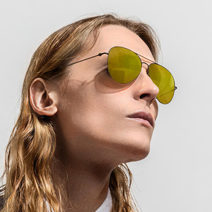 Image 4 - Youpin Turok Steinhardt TS 브랜드 나일론 편광 스테인레스 선글라스 렌즈 100% 자외선 방지 남성 여성을위한 야외 여행