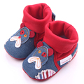 New Arrival Spring&Autumn Denim Material Indoor Newborn Baby Boys And Girls Shoes 0-15M