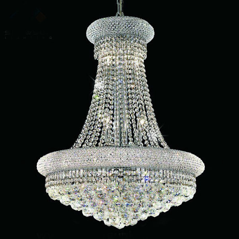 LukLoy K9 Crystal Chandelier Living Room Dining Room Bedroom European Style Simple LED Chandelier Hotel Clubhouse Entrance Lamp nordic country style simple retro octagonal crystal lamp living room dining room bedroom chandelier e14 led hanging lamp light