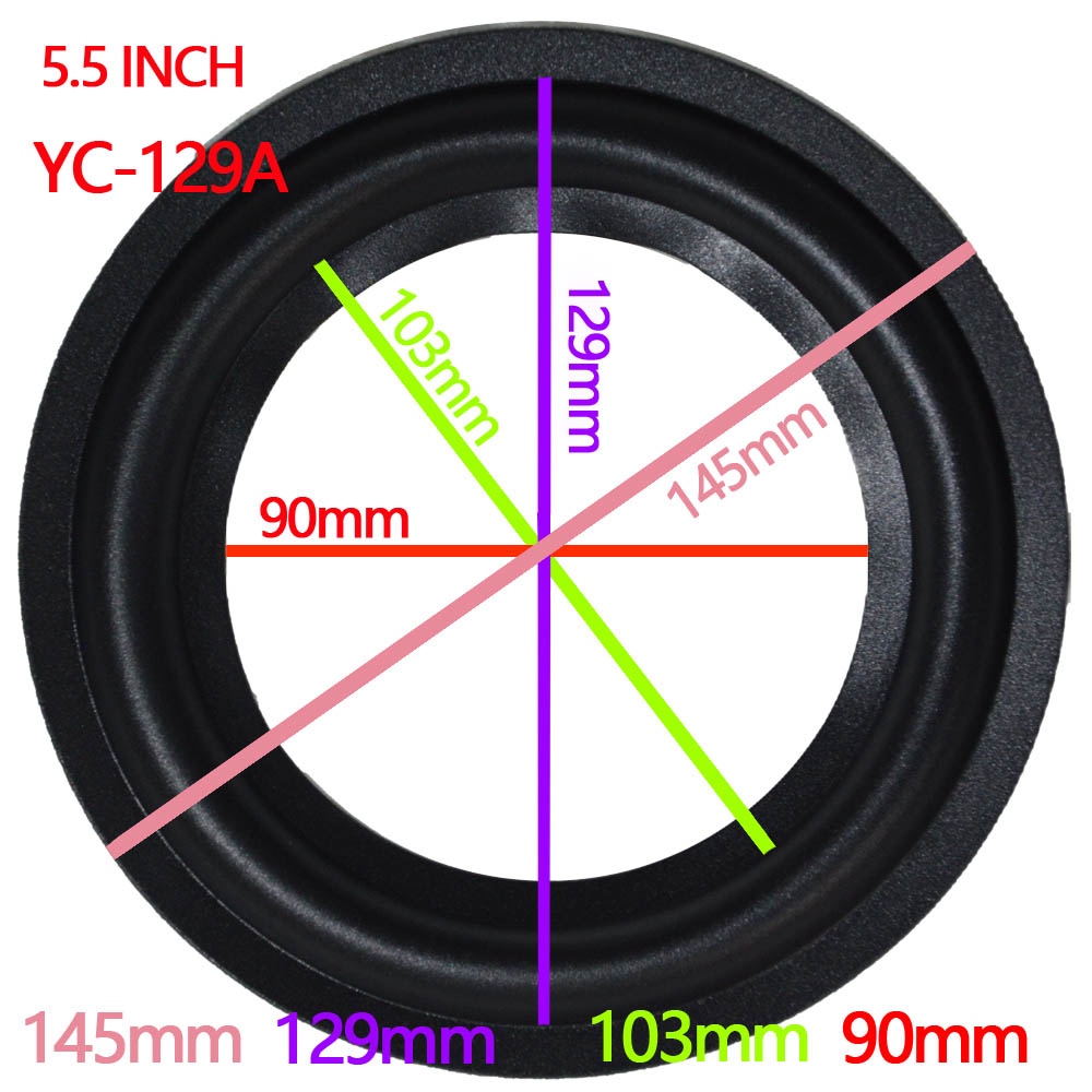 Universal 3-10 Universal Speaker Surround Repair Foam Woofer Replace Edge Foam Rubber Replacement High Quality Accessories & Parts