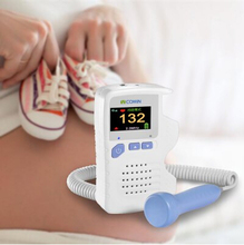Home Use Baby Care Fetal Doppler Portable Ultrasonic Diagnostic Detector for Pregnant Women LCD Display 2MHz