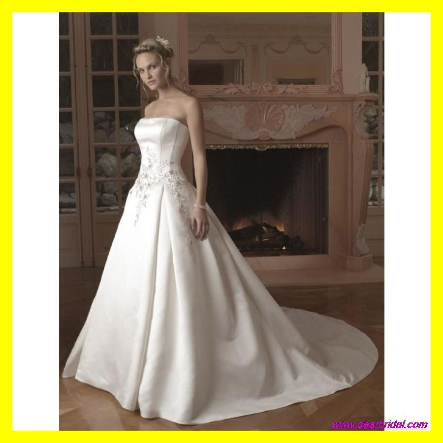 Cotton Wedding Dresses Ball Gown Petite Women Casual Under
