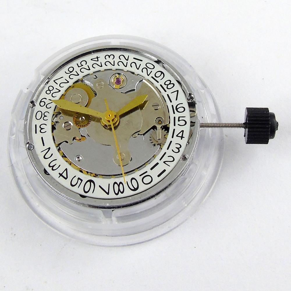 クローン 2824 日付表示上海自動運動フィット自動腕時計  グループ上の 腕時計 からの 時計盤 の中 1