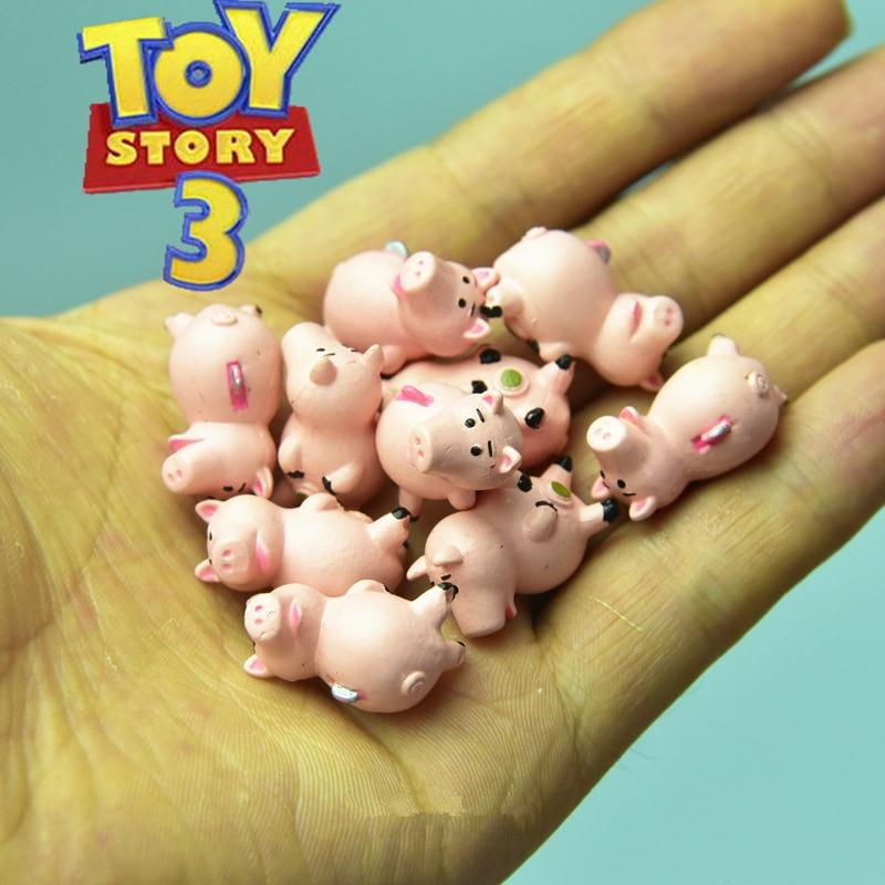 48pcs 2cm original Toy Story 3 Hamm the Piggy collection