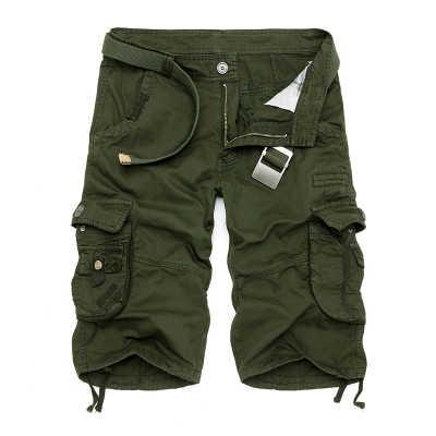 Mens Militare Cargo Shorts 2020 di Marca Nuovo Esercito Camuffamento Tattico Shorts Degli Uomini Del Cotone Allentato Lavoro Casual Pantaloni Corti Più Il Formato