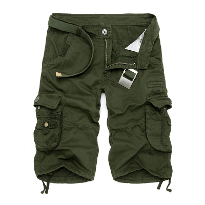 Hot DealsTactical Shorts Work Loose Military Army Camouflage Plus-Size Cotton Mens Casual Brand-New