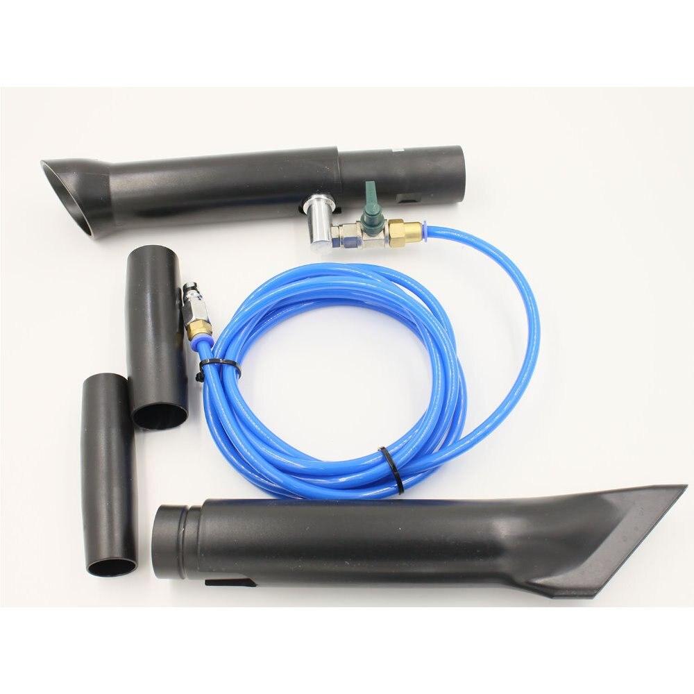 TB-014high pression portable en alliage d'aluminium japonais tube inoxydable tornade r adaptateur sous vide original/tornade pistolet à vide lavage