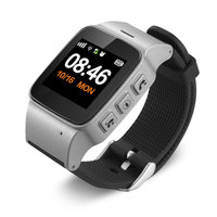 GPS Phone Positioning Elderly Children 1.22 inch Screen WIFI SOS Location Tracker for Android IOS With Wrist Off Alarm