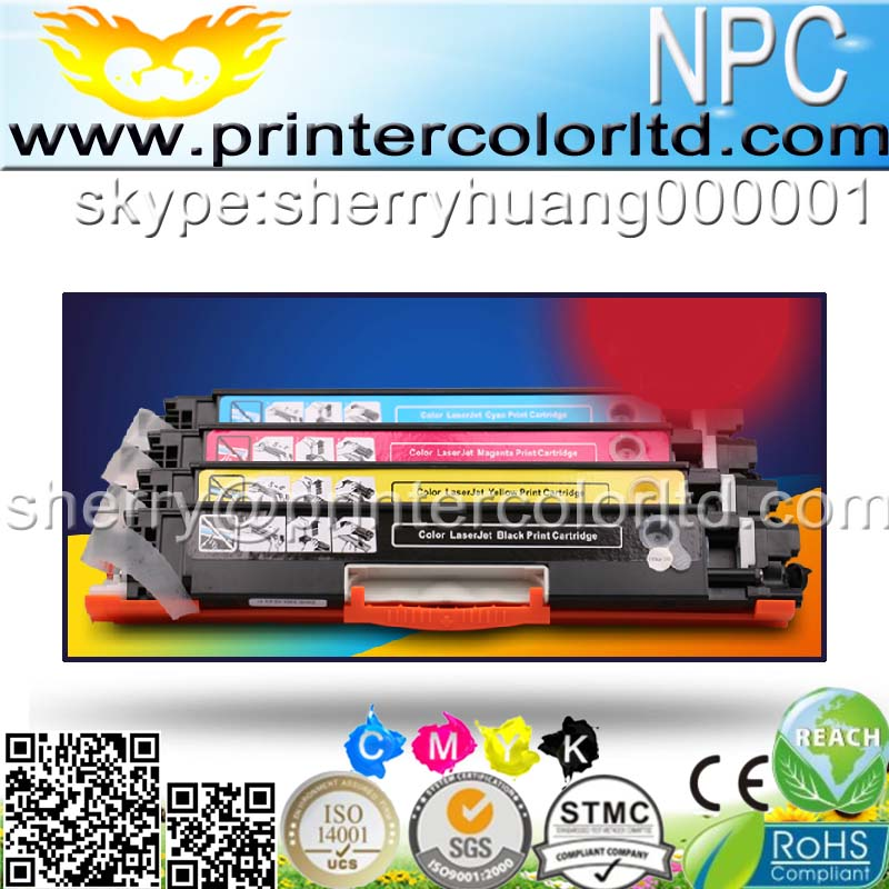 4pcs for CE310 CE310A 313A 126A 126 Color Toner Cartridge For HP LaserJet Pro CP1025 M275 100 Color MFP M175a M175nw Printer