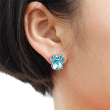 Joyous Rhinestone Claw Earrings