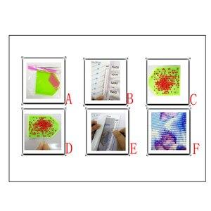 Image 5 - Cuentas cuadradas completas 5D, bordado de diamantes, herramienta para tazas de café, punto de cruz, mosaico de diamantes de imitación, regalo de Decoración de cocina