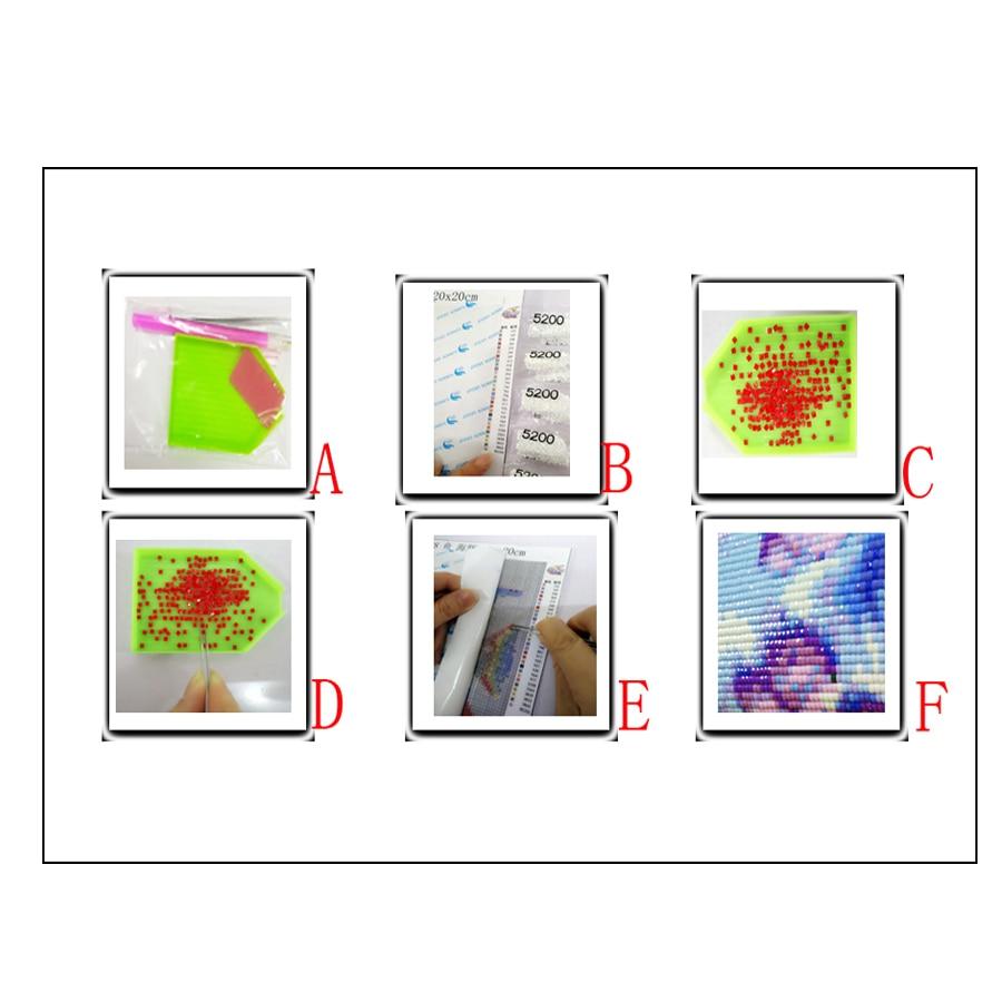 Image 5 - Full Square drill 5D DIY Diamond embroidery Coffee Cup tool Diamond Painting Cross Stitch Rhinestone Mosaic kitchen decor gift-in Diamond Painting Cross Stitch from Home & Garden