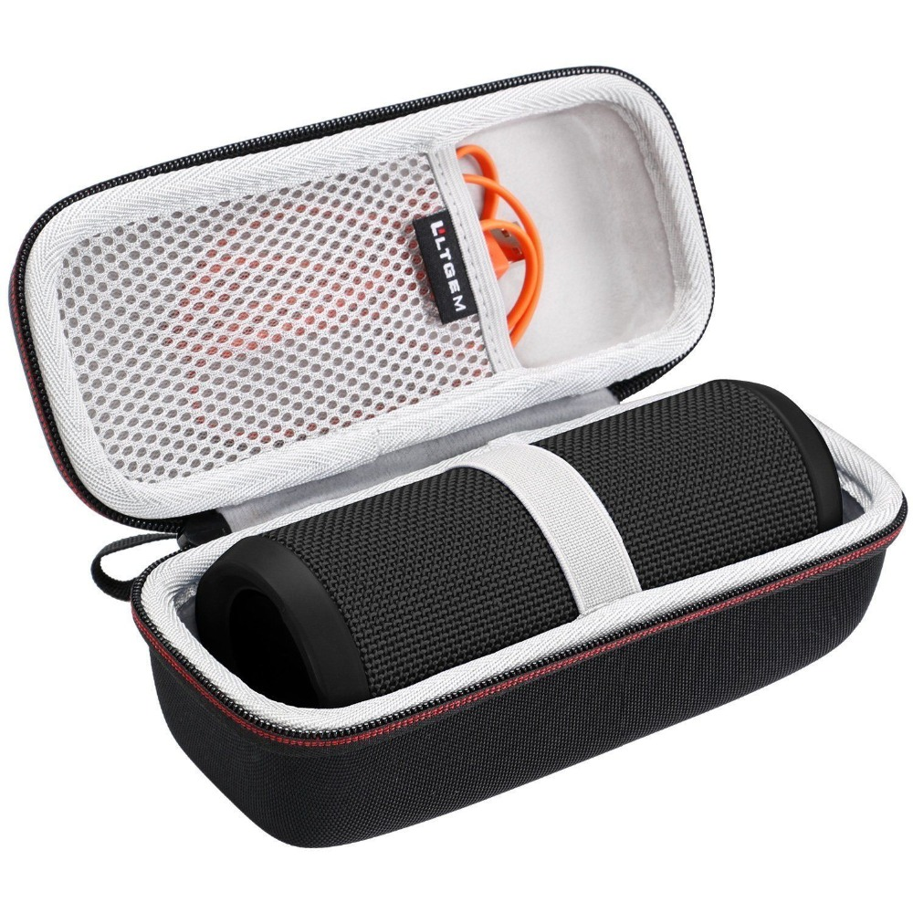 LTGEM EVA Hard Storage Travel Carrying Case For JBL Flip 3 Or Flip 4 Bluetooth Speaker Xtreme