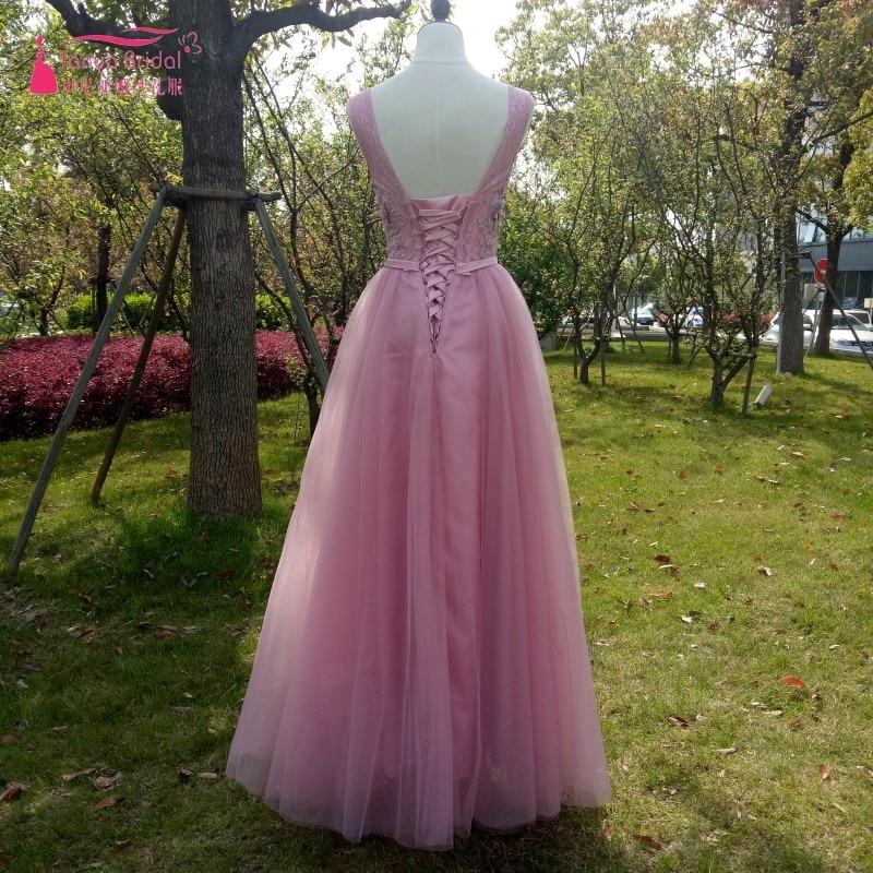 Atractivo Polvorientos Vestidos De Dama De Rosa Embellecimiento ...