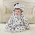 Designer de moda engraçado traje do bebê inverno e outono algodão orgânico lining unissex roupa do bebê romper