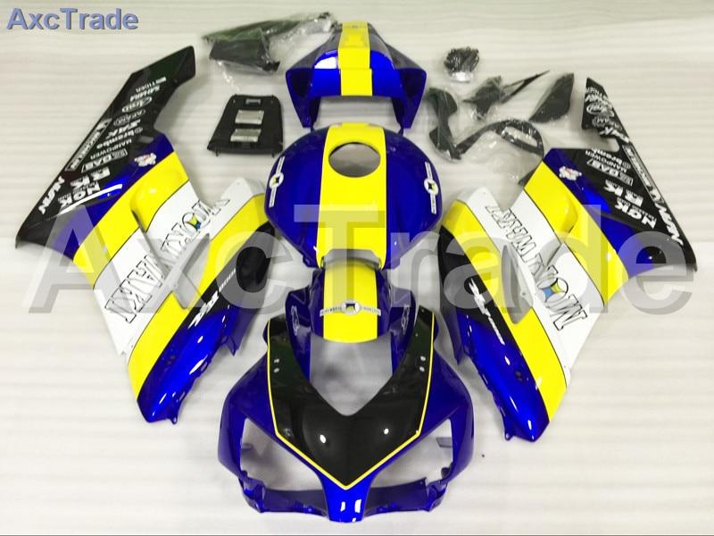 Мотоцикл Обтекатели для Honda CBR1000 CBR1000RR ЦБ РФ 1000 рублей 2004 2005 ABS пластик впрыска Обтекателя кузова комплект желтый синий