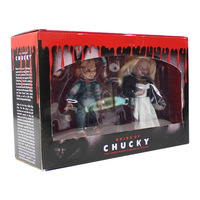 Horror Good Guys Action Figure Scary Bride of Chucky Horror Toy Model Doll Halloween Decorations