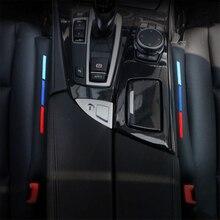 2 pz Faux Leather Car Seat Gap Pad Cariche Filler Spacer Spina di Slot Per bmw e46 e39 e60 e90 f30 f10 f34 x1 x3 x5 x6 accessori