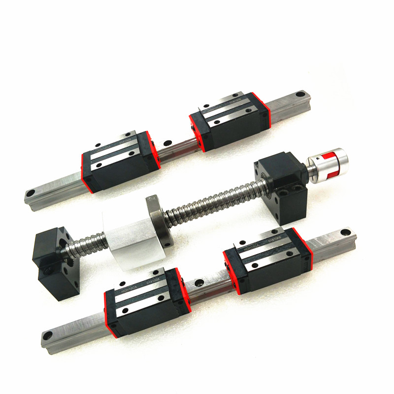 BK//BF12 6.35*10mm Couplers for CNC New 1500MM Ballscrew SFU1605-1500