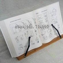 33*20 см, рамка для чтения из натурального бамбука, рамка из цельного дерева, рамка для чтения книг, бревен, рамка для чтения, корейский держатель для канцелярских принадлежностей, защита зрения