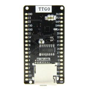 Image 5 - LILYGO®Ttgo ESP 32 v1.3 rev1 placa de desenvolvimento t1 4 mb flash cartão sd módulo wi fi bluetooth
