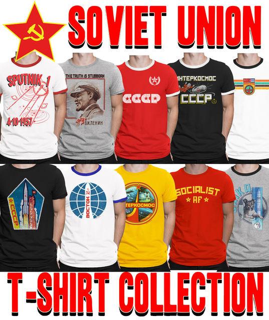 f022fb4f2234529 ... Socialism Футболка мужская. Mens SOVIET UNION T Shirt Choice SPACE  Program Communism CCCP USSR Socialism Tshirt Men