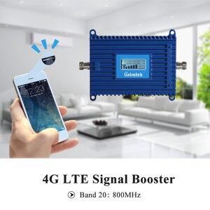 Image 2 - をlintratek 4 4g lte信号リピータブースター800mhz帯20 70dB利得4 4g lte 800モバイル携帯電話信号リピータアンプ @