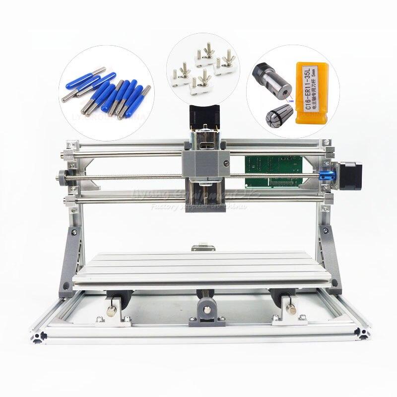 Bricolage machine de gravure mini Pcb Pvc fraisage bois sculpture machine3018 grbl contrôle