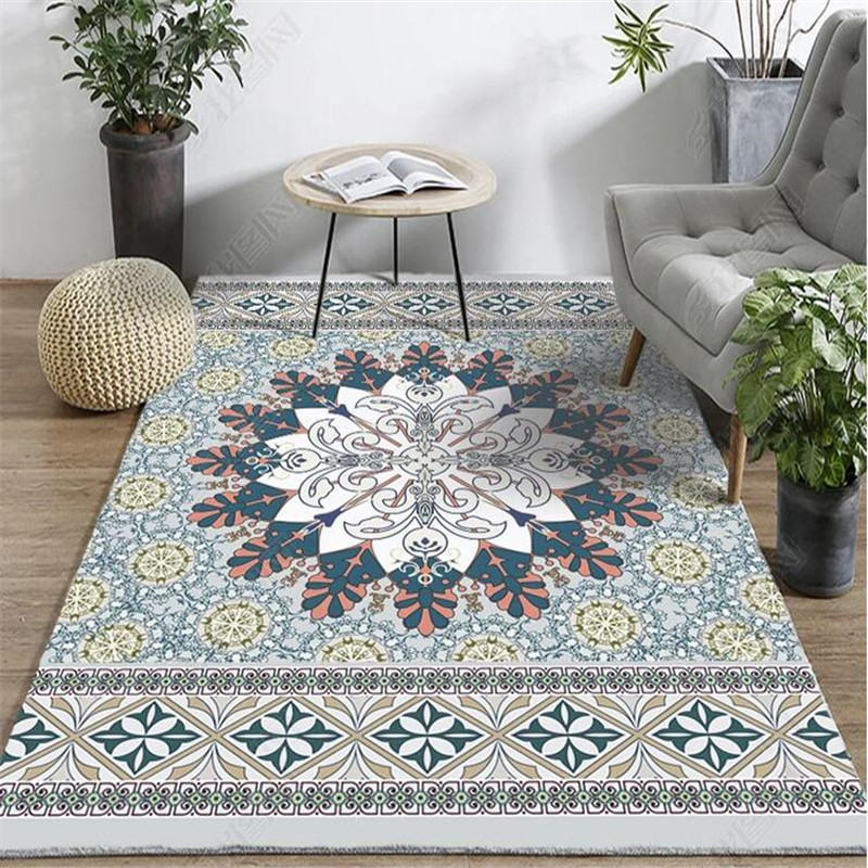 Us 1 46 13 Off 2000mm X 3000mm Rectangular Rugs Morocco Carpets Living Room India Persian Rug Sofa Coffee Table Mat Bedroom Yoga Study In Carpet