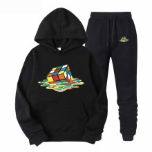 Mens fashion sports suit casual hoodie/sweatshirt coat + trousers mens brand clothing
