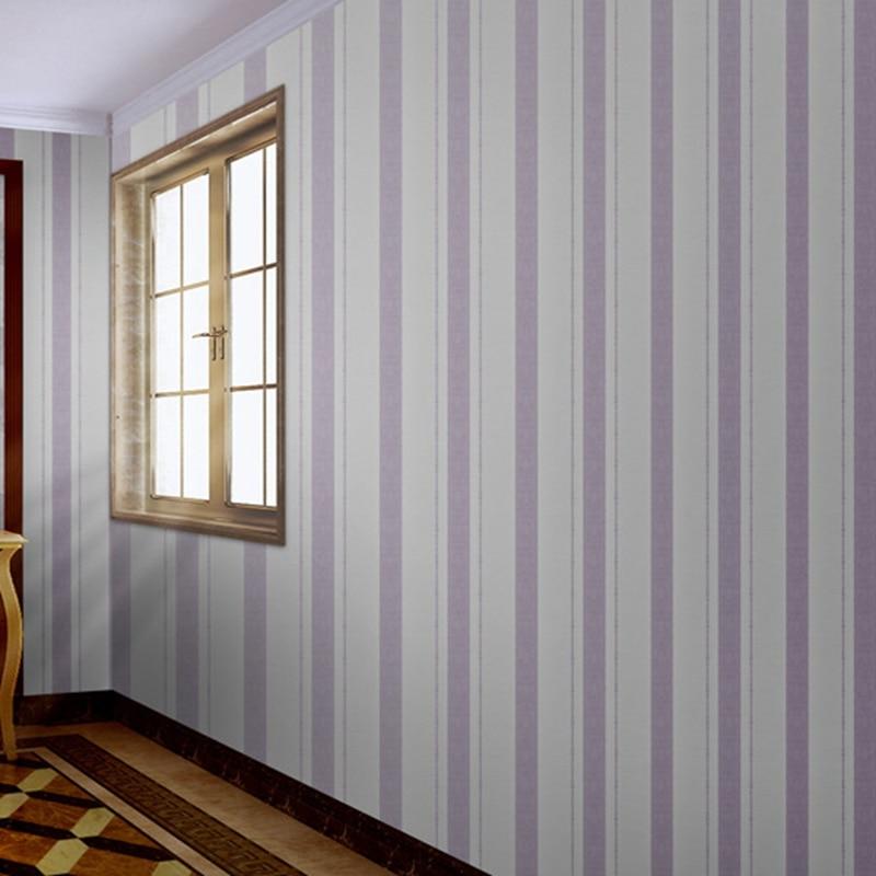 Современные европейские печати обои 3D стерео вертикальные полосы ПВХ обои для Спальня Обои в гостиную украшения дома