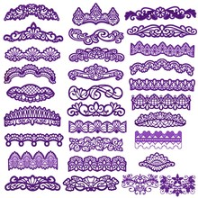 Flower Lace Borders Metal Cutting Dies