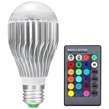 RGB LED Lamp 20W 85 265V E27 LED RGB Bulb Light 110V