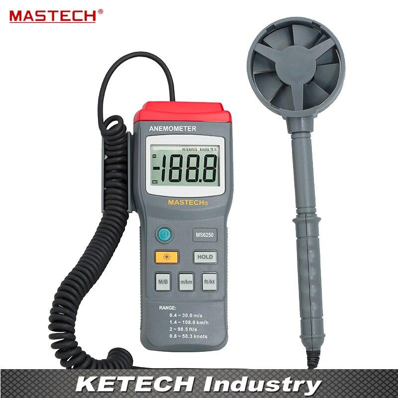 Фото Digital Anemometer Wind Speed Tester MASTECH MS6250