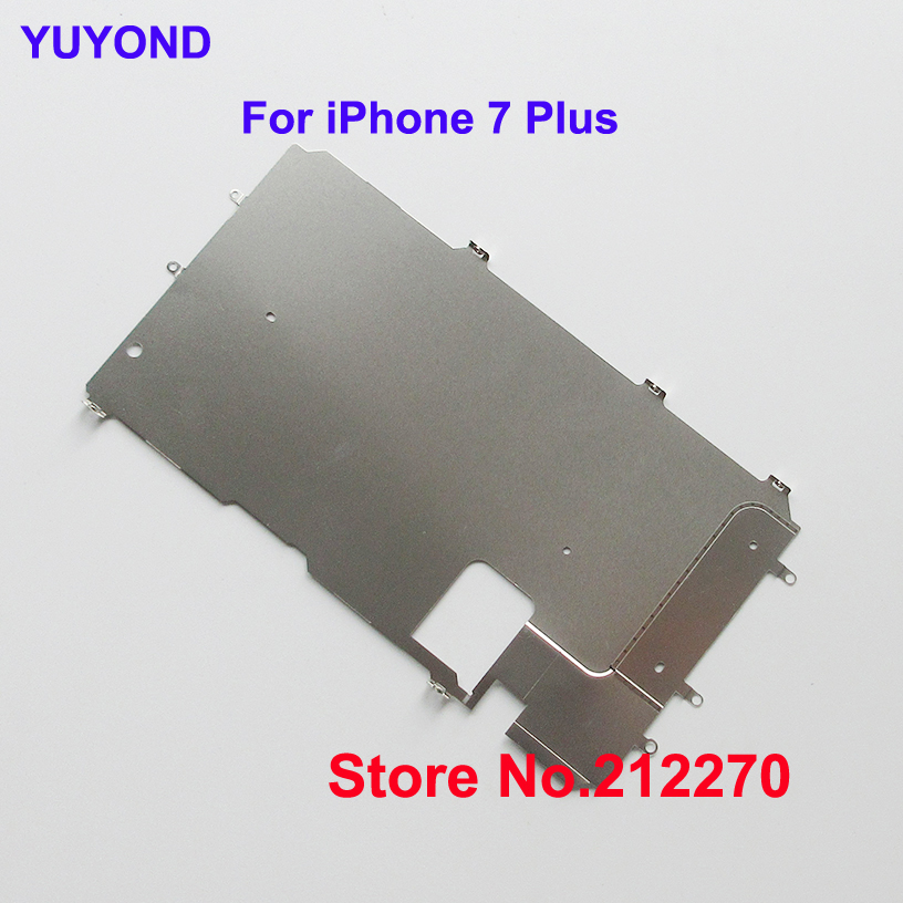 YUYOND Original New LCD Plate Metal Backplate Shield Replacement For iPhone 7 Plus 5 5 50pcs