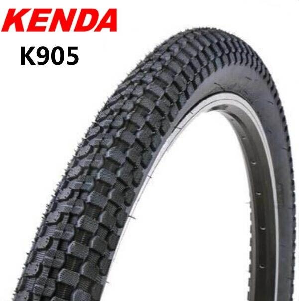 KENDA BMX Bicycle Tire K905 Mountain MTB Cycling Bike tyre 20*2.35/26x2.3 65TPI pneu bicicleta tubeless parts