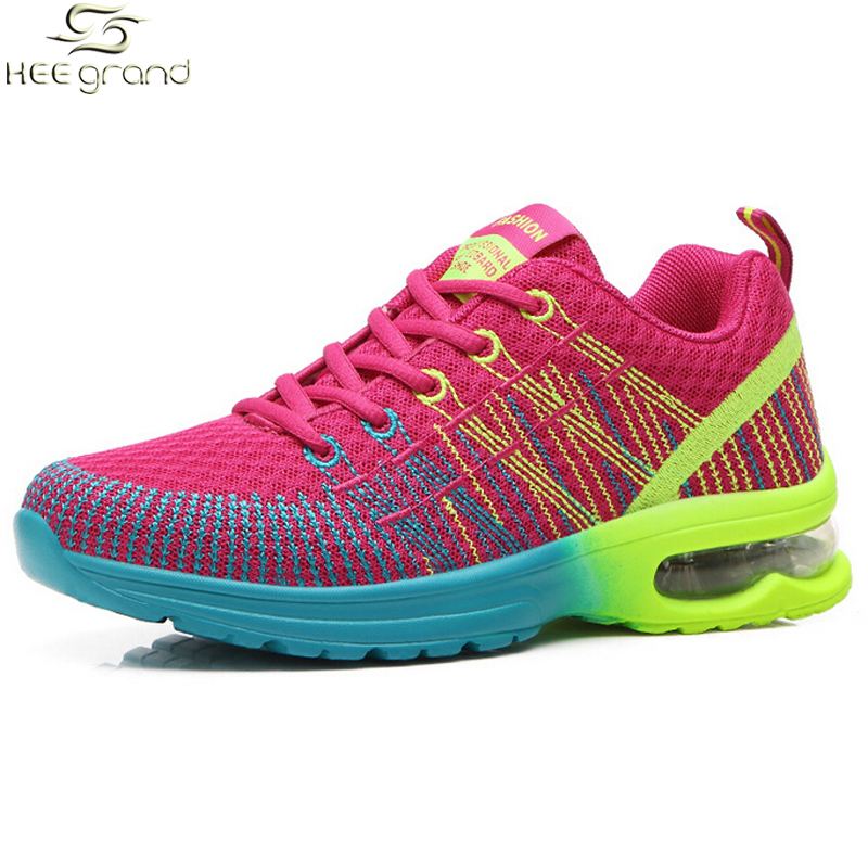 Women s Sneakers Breathable Cushioning Women Running Shoes XYP418