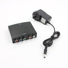 4 к HDMI к 5RCA RGB компонент YPbPr видео + R/L аудио адаптер конвертер HD ТВ DVD