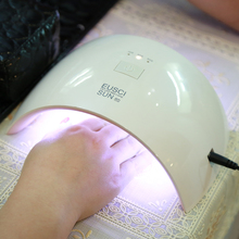 EUSCI SUN9c Plus 24W UV Gel Nail lamp 18 LEDs Nail dryer for All Gels with 30s/60s button Perfect Thumb Solution