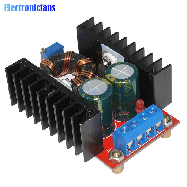 150w dc dc boost converter step up power supply module 10. Black Bedroom Furniture Sets. Home Design Ideas